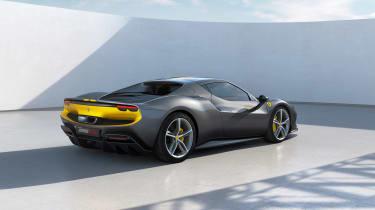 2022 Ferrari 296 GTB AF – rear quarter
