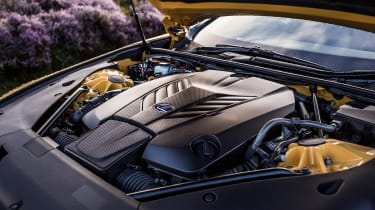 Lexus LC500 – engine bay