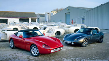 TVR factory