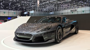 Rimac C_Two - front quarter