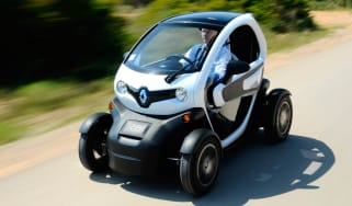 Renault Twizy electric car front