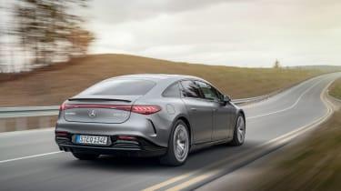 Mercedes-AMG EQS53 – rear tracking