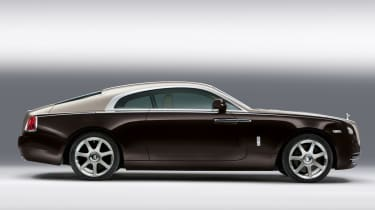 Rolls-Royce Wraith side profile