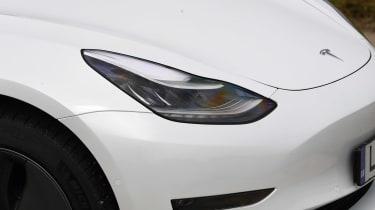 Tesla Model 3 light