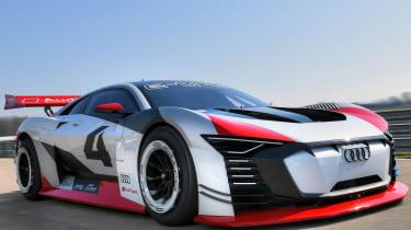 Audi e-tron Vision Gran Turismo - front quarter
