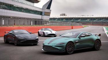 Aston Martin Vantage F1 Edition colours