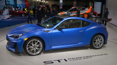 Subaru STI Concept - Side