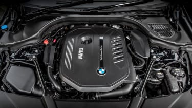 BMW 6-series GT 640i - engine bay