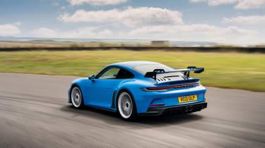 992 Porsche 911 GT3 manual – rear quarter tracking
