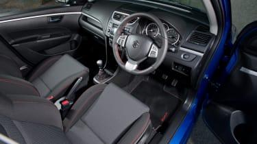 Suzuki Swift Sport five door dashboard interior steering wheel