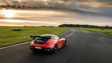 Mercedes-AMG GT Black Series – rear tracking