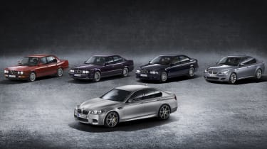 BMW M5 30th anniversary model