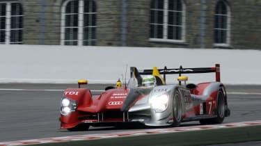 Audi R15 TDI Le Mans racer