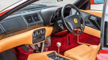 Ferrari F355 – interior