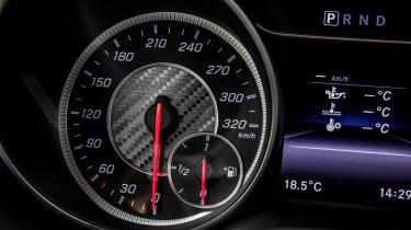 2017 Mercedes-AMG GLA45 - Dials