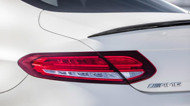 Mercedes-AMG C 63 S Coupe - white lights