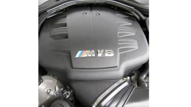 BMW M3 Competition engine close
