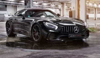 Edo Mercedes-AMG GT R – front cornering