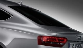 Audi A5 Sportback teaser