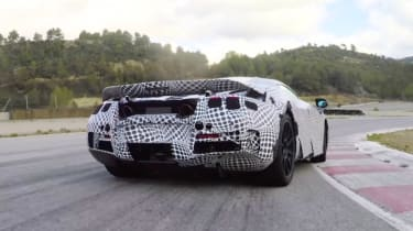 McLaren Super Series testing