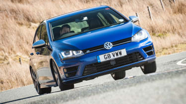 Best performance cars: VW Golf R mk7