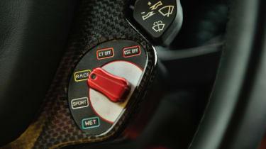 Ferrari F12 race mode