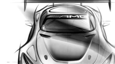 Mercedes-AMG GT GT3 front