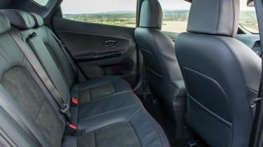 Kia Ceed GT five-door back seats