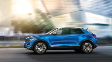 VW T-Roc - Blue profile