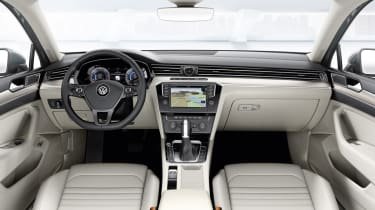 New VW Passat interior