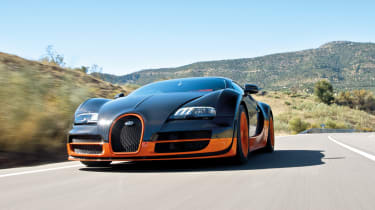 Bugatti Veyron dual-clutch gearbox engineered by Ricardo