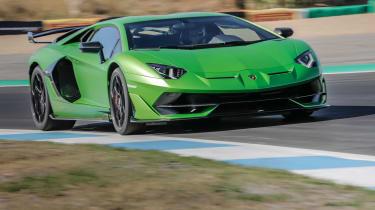 Fastest ever Nürburgring lap times Aventador SVJ green