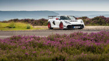 Lotus Exige 380 Cup - front static