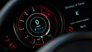 Aston Martin DB11 Volante - dials