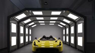 Dallara Stradale - paint