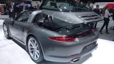 Geneva supercars: Porsche 911 Targa