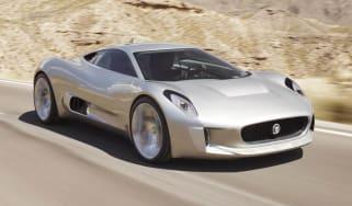 Jaguar C-X75 supercar: technical details