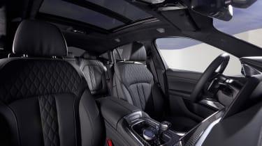 New BMW X6 seats