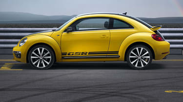 New Volkswagen Beetle GSR side profile