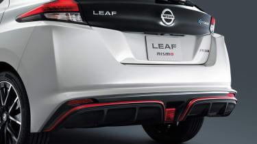 Nissan Leaf Nismo rear bumper