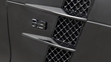 Mercedes SLS AMG 'Black' by Kicherer, side vent picture