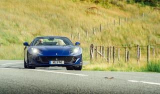 Ferrari 812 GTS TDF blue - front