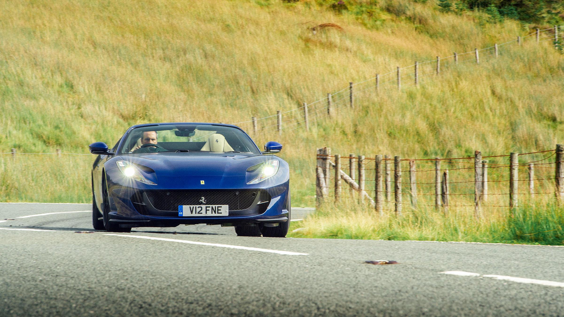 Ferrari 812 Gts 2020 Review Ultimate Open Top V12 Thrills Evo