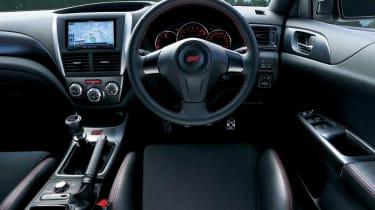 Subaru Impreza WRX STI tS Type RA interior dashboard