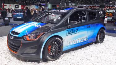 Hyundai i20 WRC Geneva show pics