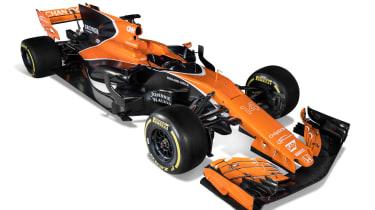 McLaren F1 car side