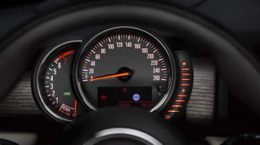 New Mini 2014 speedometer