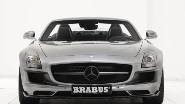 Brabus SLS AMG Roadster front view