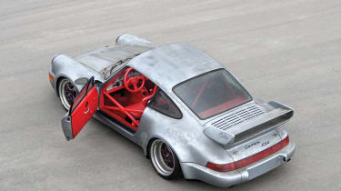 Porsche 911 Carrera RSR - above