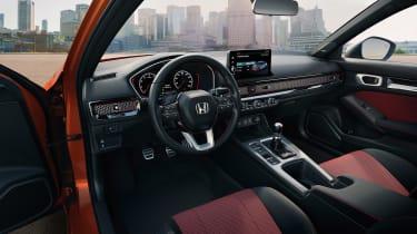 Honda Civic Si – interior